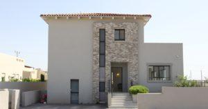 בית מגורים בעיצוב כפרי בגבעת עדה
