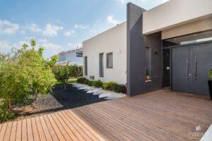 בית מגורים מעוצב בסגנון מודרני במושב מאור
